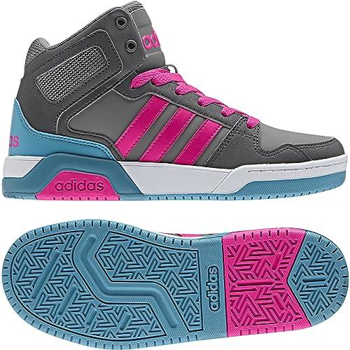 zapatillas adidas niña grises