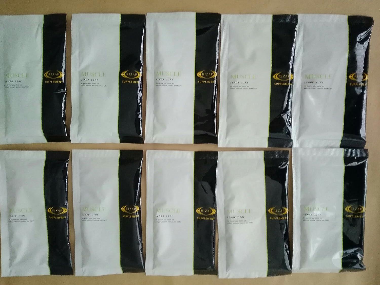 ライザップ プロテイン レモンライム味 10袋 RIZAP MUSCLE B01N5VD8E3