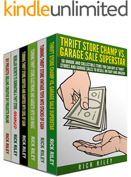 Amazon Com 200 Things To Buy At Garage Sales And Thrift Stores To Sell On Ebay 6 Manuscripts Learn Exactly What To Buy To Make A Living Selling On Ebay Make Money