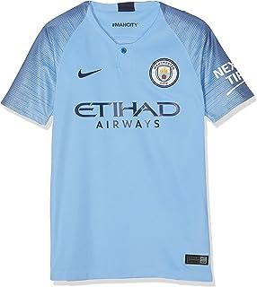 c4760660ee2 Amazon.com   Nike 2018-2019 Man City Away Football Soccer T-Shirt ...