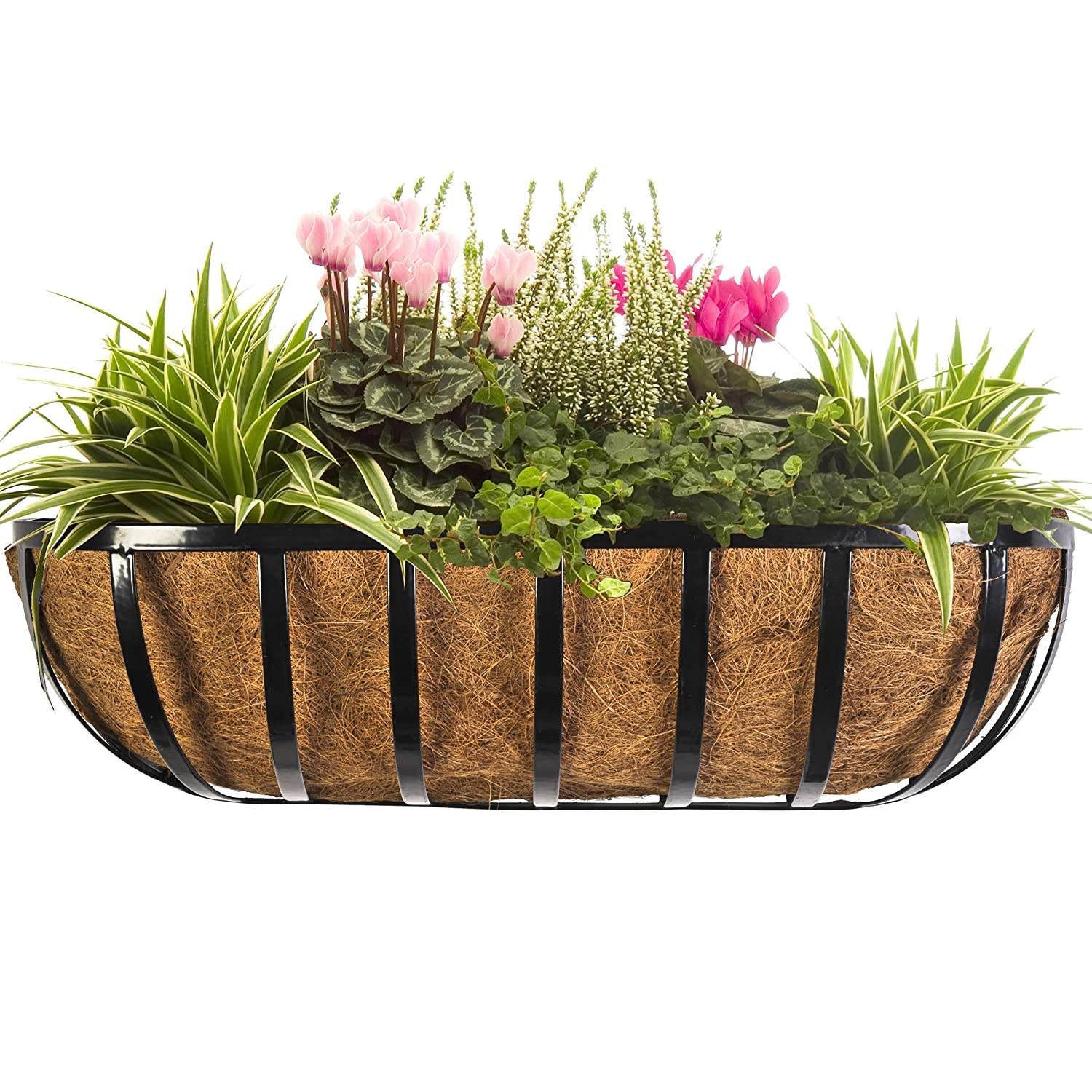 English Trough Planter Basket