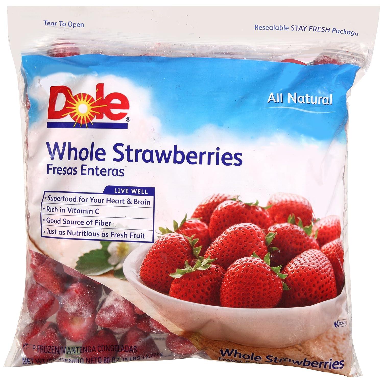 Whole Frozen Strawberries