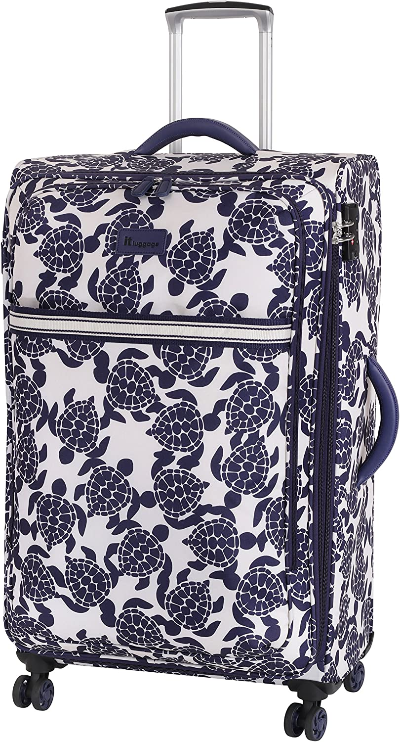 it luggage Maleta, Navy/Cream Sea Turtles Print (Multicolor) - 12-2020-08GLO3N-P762