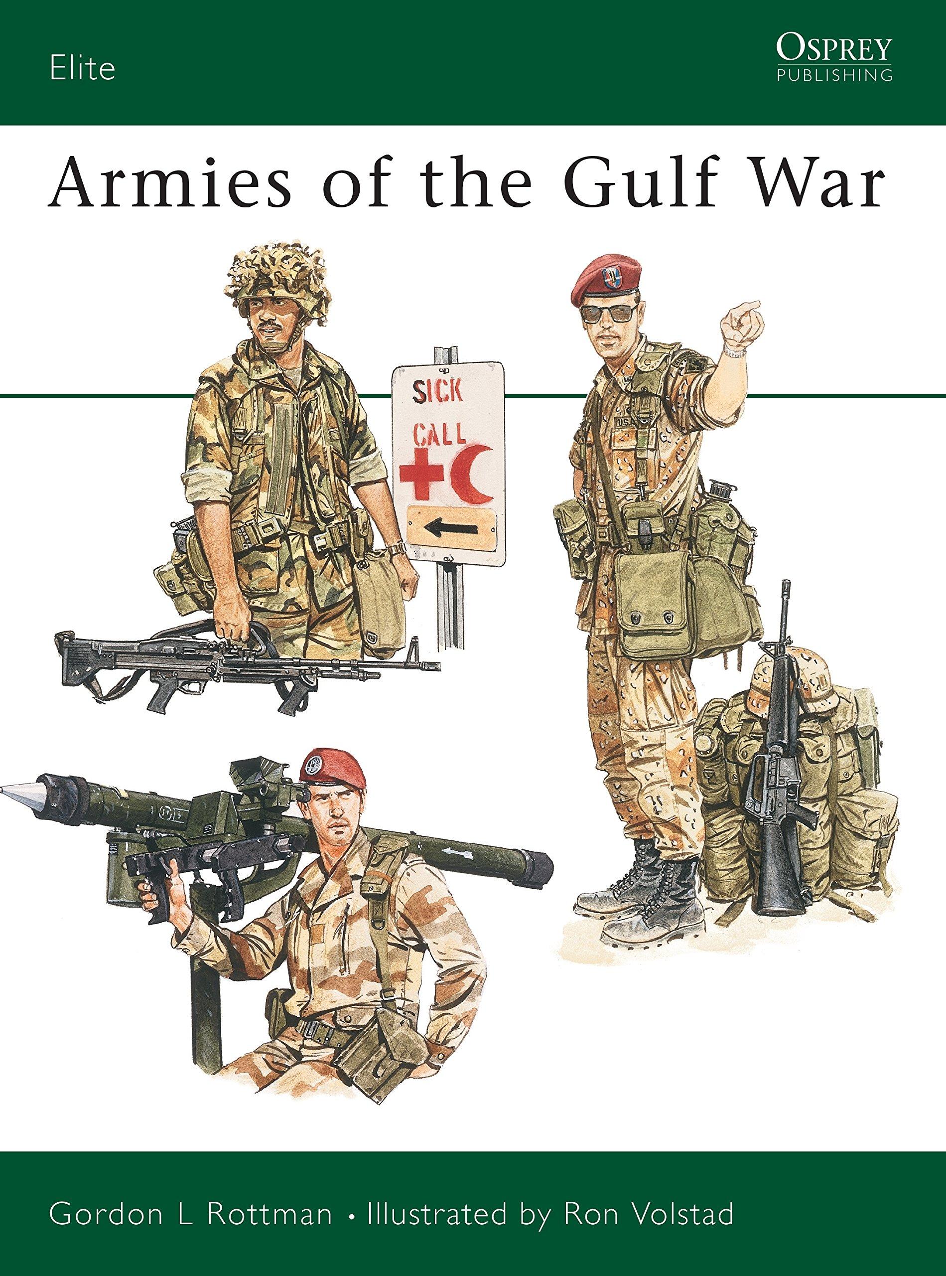 Armies of the Gulf War: No. 45 (Elite): Amazon.es: Rottman ...
