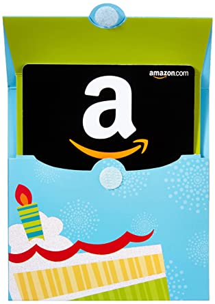 Amazon Amazon Gift Card In A Birthday Reveal Gift Cards