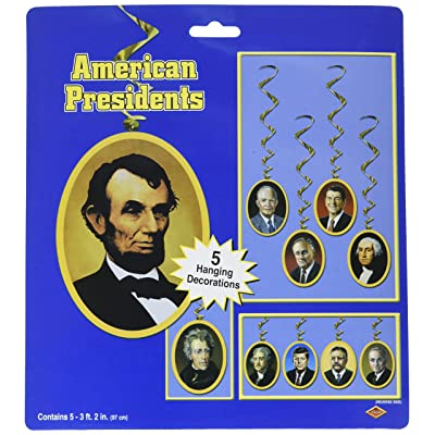 American President Whirls (5/Pkg): Kitchen & Dining