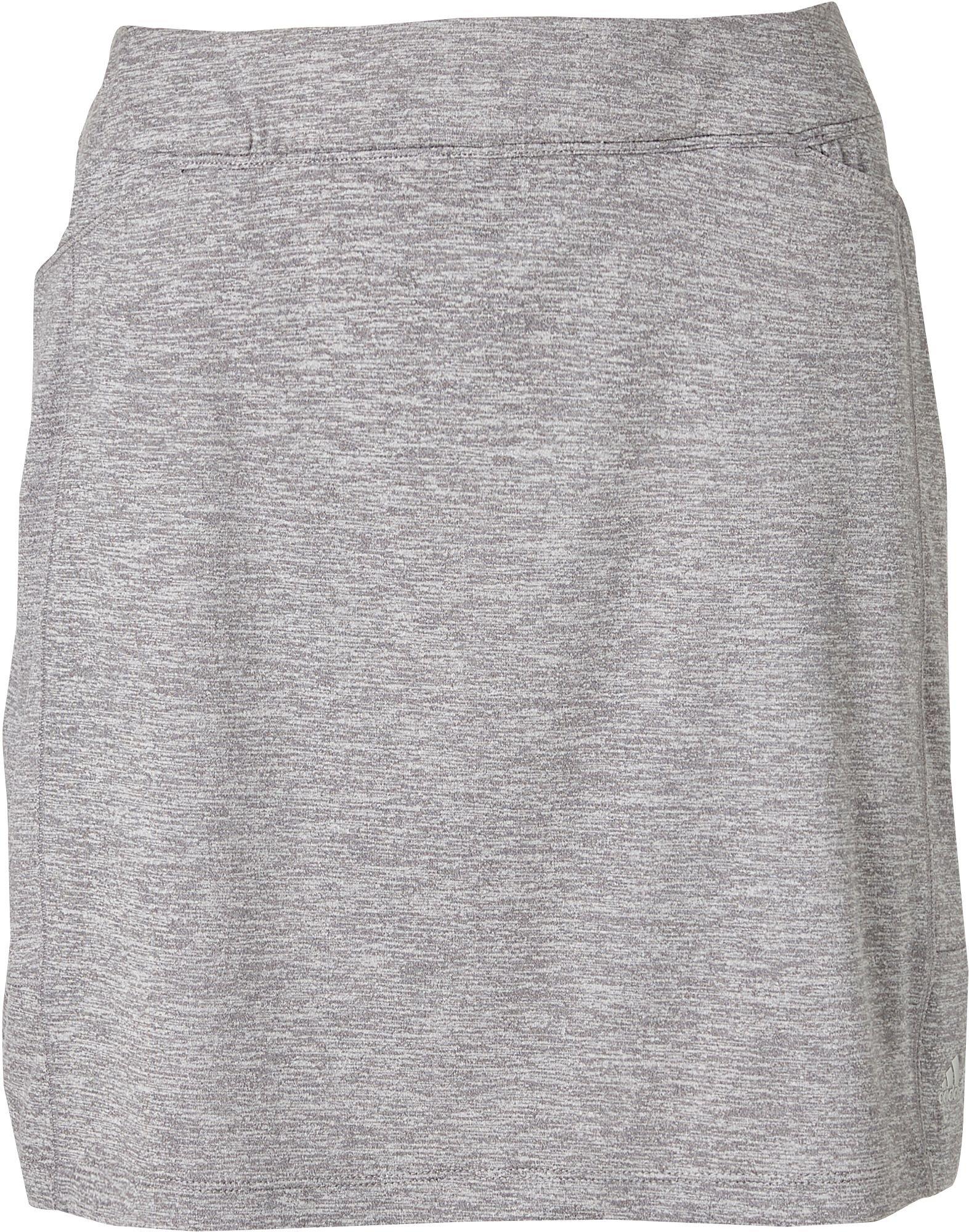 adidas Womens Advantage Golf Skort (Grey Three Heather, X-Small) by adidas