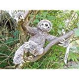 "Plush Toy Sloth - 11"" Soft and Cuddly Stuffed Animal Sloth"