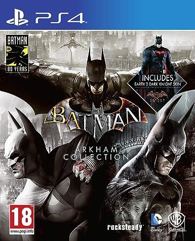 Batman Arkham Collection Steelbook Edition - PlayStation 4 ...