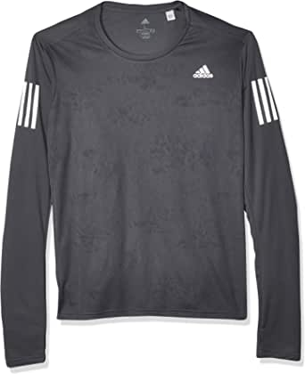 adidas Own The Run Long Sleeve tee Men Camisa Hombre