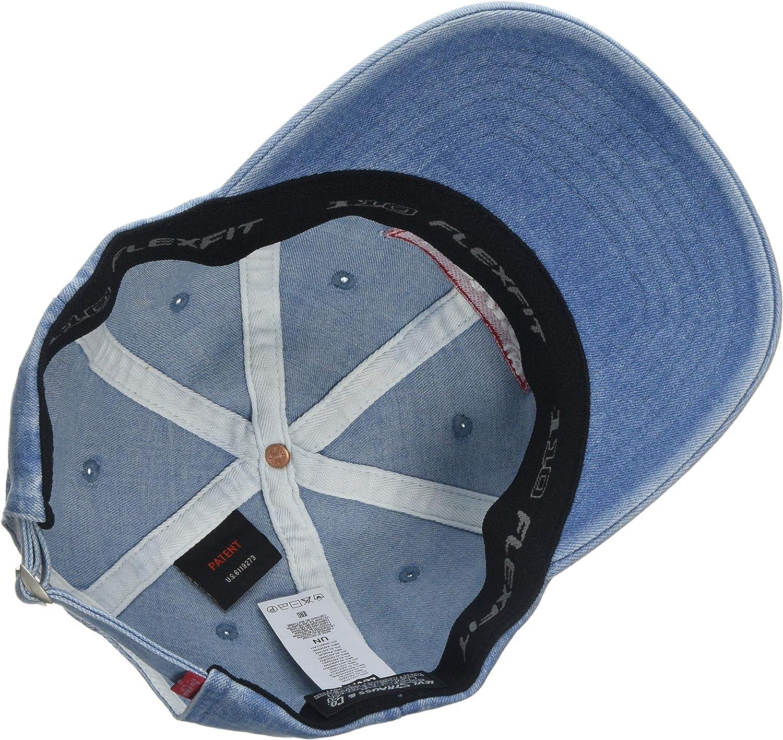 Levis Big Batwing Flex Fit Denim Gorra, Azul (Light Blue 13 ...