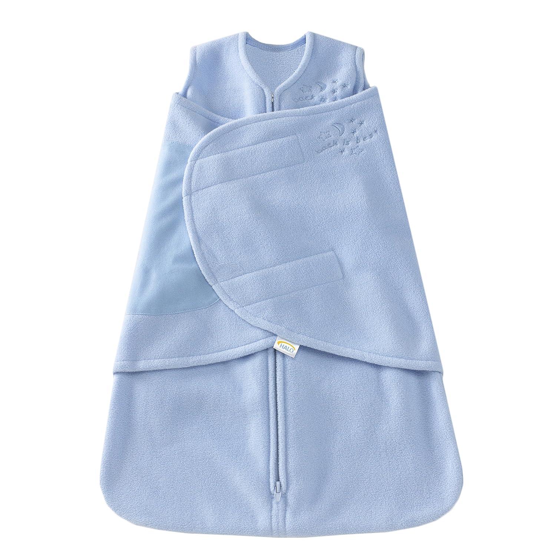 HALO SleepSack Micro-Fleece Swaddle, Soft Pink, Newborn by Halo B000BTLJL4 Newborn|ソフトピンク ソフトピンク Newborn