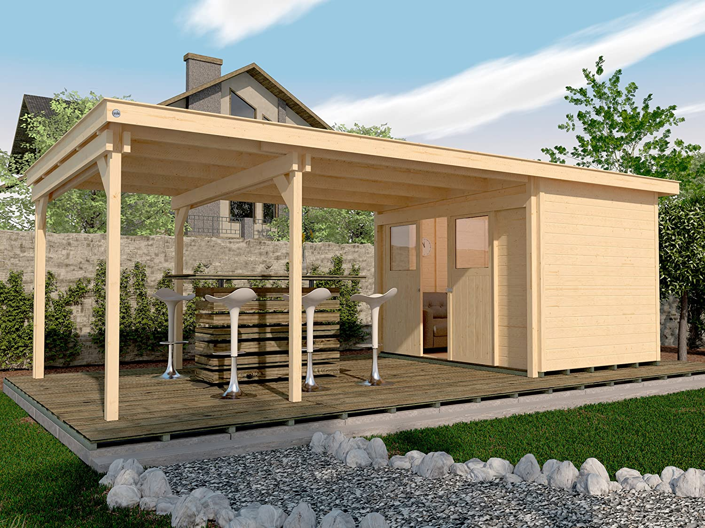 Anspruchsvoll Weka Holzbau Beste Wahl Lounge- 225 B Gr. 1, Natur, 21