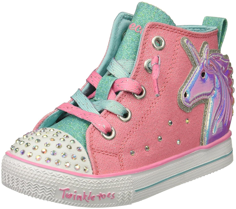 Skechers Kids' Twinkle Lite Unicorn Minis Sneaker