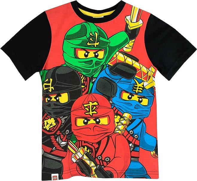 LEGO Ninjago - Camiseta para niño Ninjago - 11-12 Años: Amazon.es ...