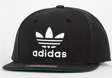 ede0133380b Amazon.com  adidas Thrasher Snapback Hat Black White