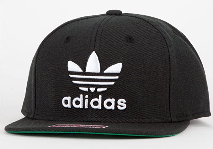 Amazon.com  adidas Thrasher Snapback Hat Black White 4d2ede74184