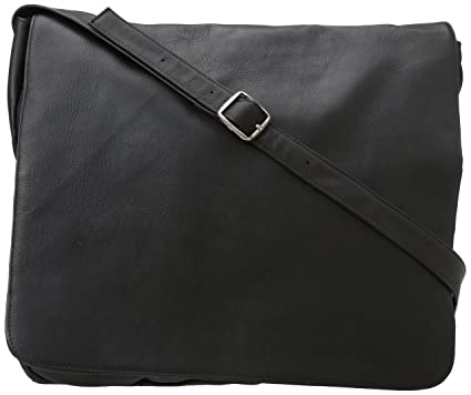 Amazon.com: Latico Leathers Heritage Laptop Large Messenger ...