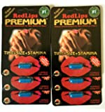 6 PK Genuine Redlips Red lips Premium Men Enhancement Pills