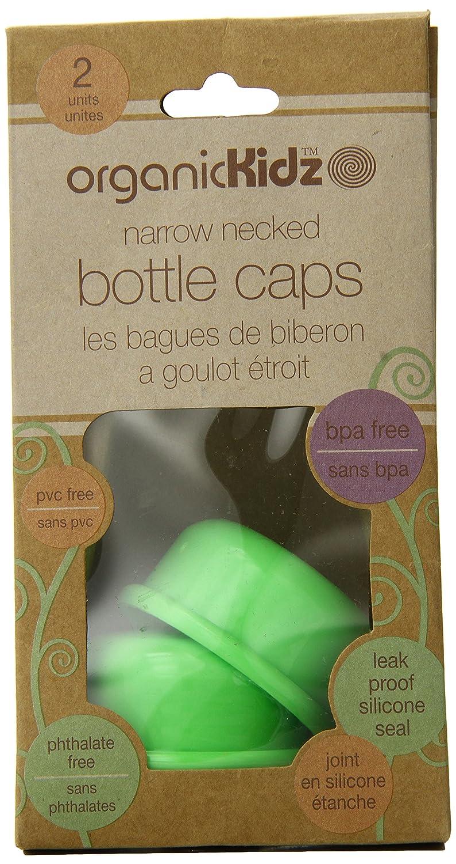 新発売の organicKidz Narrow Necked Bottle Cap, Bottle Green 2 Count B00HXDU1T2 by by organicKidz B00HXDU1T2, 家具の東金:eab31038 --- a0267596.xsph.ru