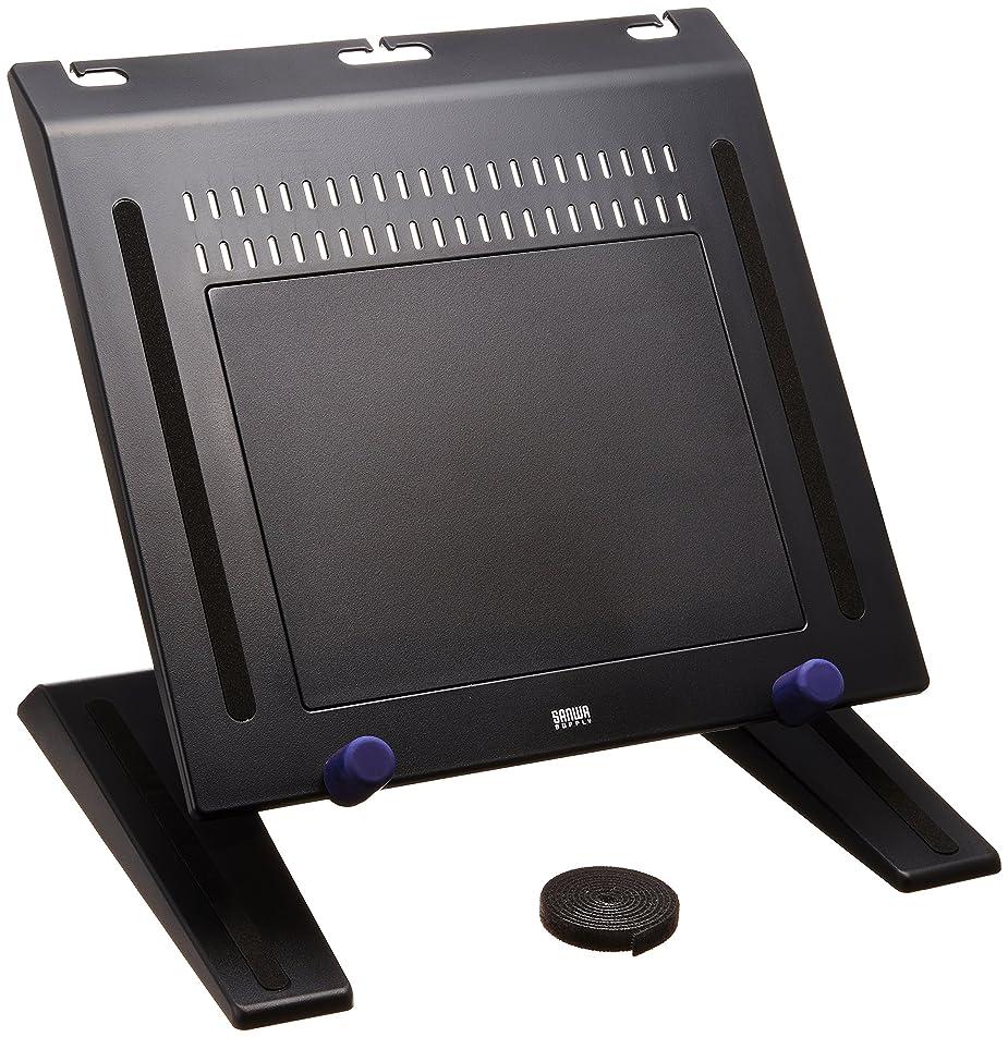 うつ予測ブレスノートパソコンスタンド Eletorot 折りたたみ式 パソコンテーブル 冷却ファン付き アルミ製 48cm