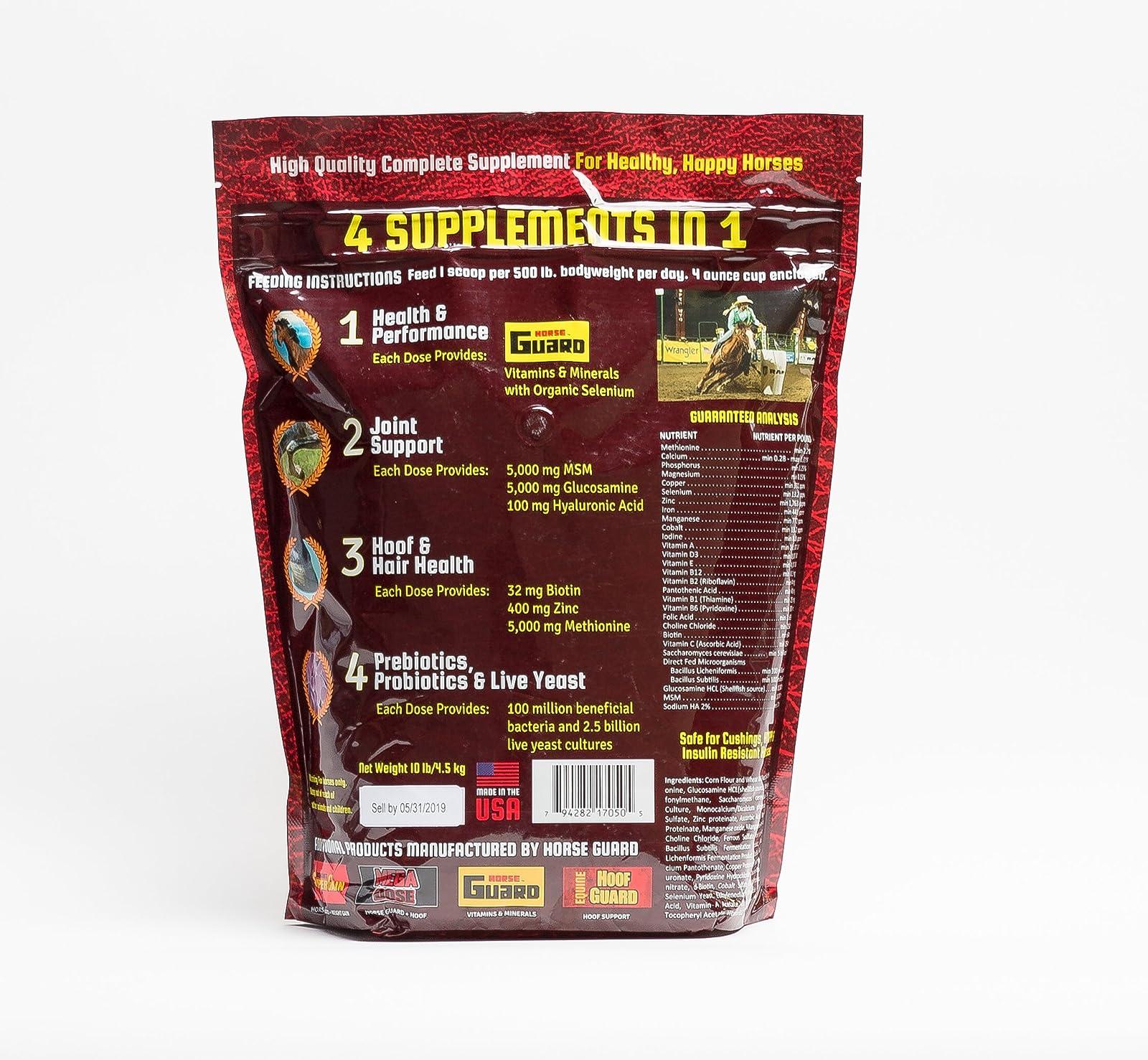 Horse Guard Trifecta Equine Vitamin Mineral Joint Trifecta 10lb bag - 1