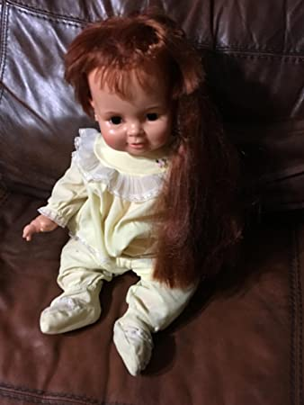 Amazon Vintage Baby Crissy Doll By Ideal Hair Growing 23