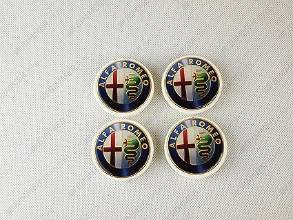 Alfa Romeo centro rueda Caps 60 mm (Aez, Dezent, Enzo): Amazon.es ...