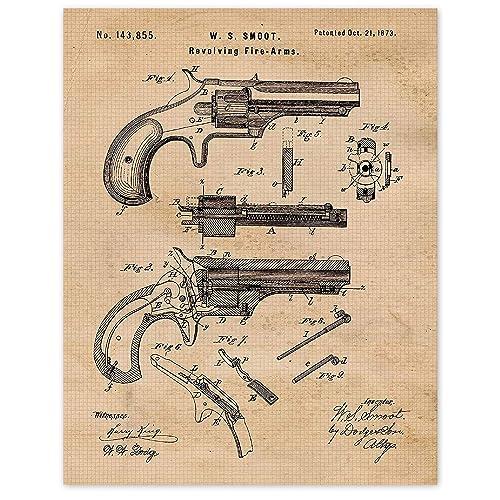 revolver poster revolver revolver print Vintage Revolver revolver art Gun Poster weapon poster revolver wall art rifle art rifle