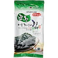 Sing Long Seasoned Seaweed (Perilla Oil Laver), 4g (Pack of 8)