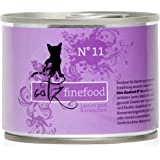 Catz finefood Katzenfutter No. 11 Lamm und Kaninchen 200 g, 6er Pack (6 x 200 g)