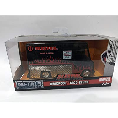 Jada Deadpool Taco Truck Black \Marvel\ Series 1/32 Diecast Model: Toys & Games