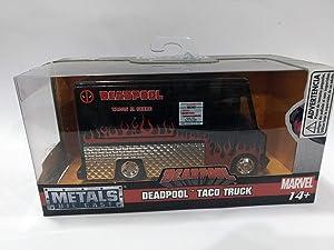 Jada Deadpool Taco Truck Black \Marvel\ Series 1/32 Diecast Model