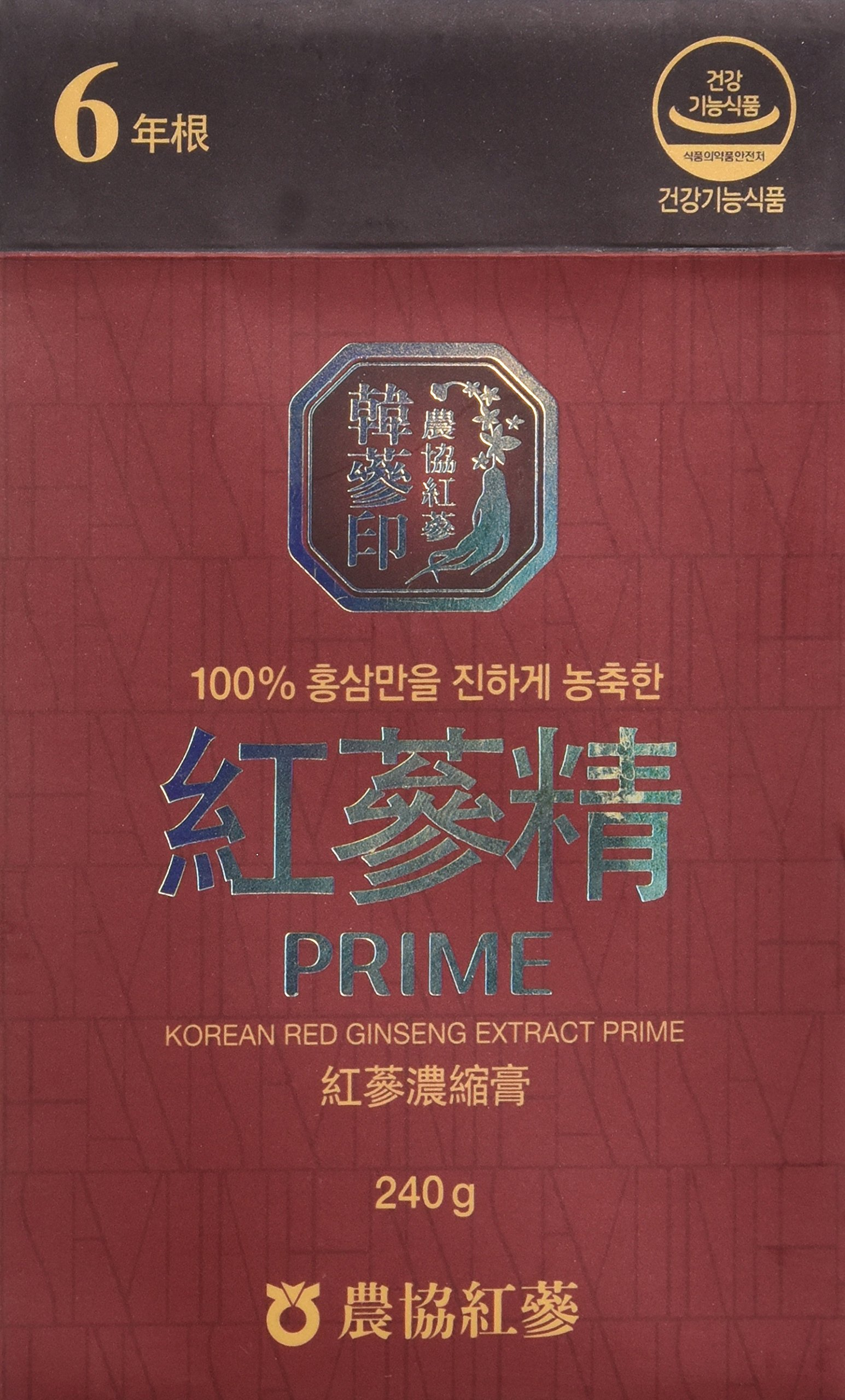 Red Korean Ginseng Extracts Paste Gold 240gram