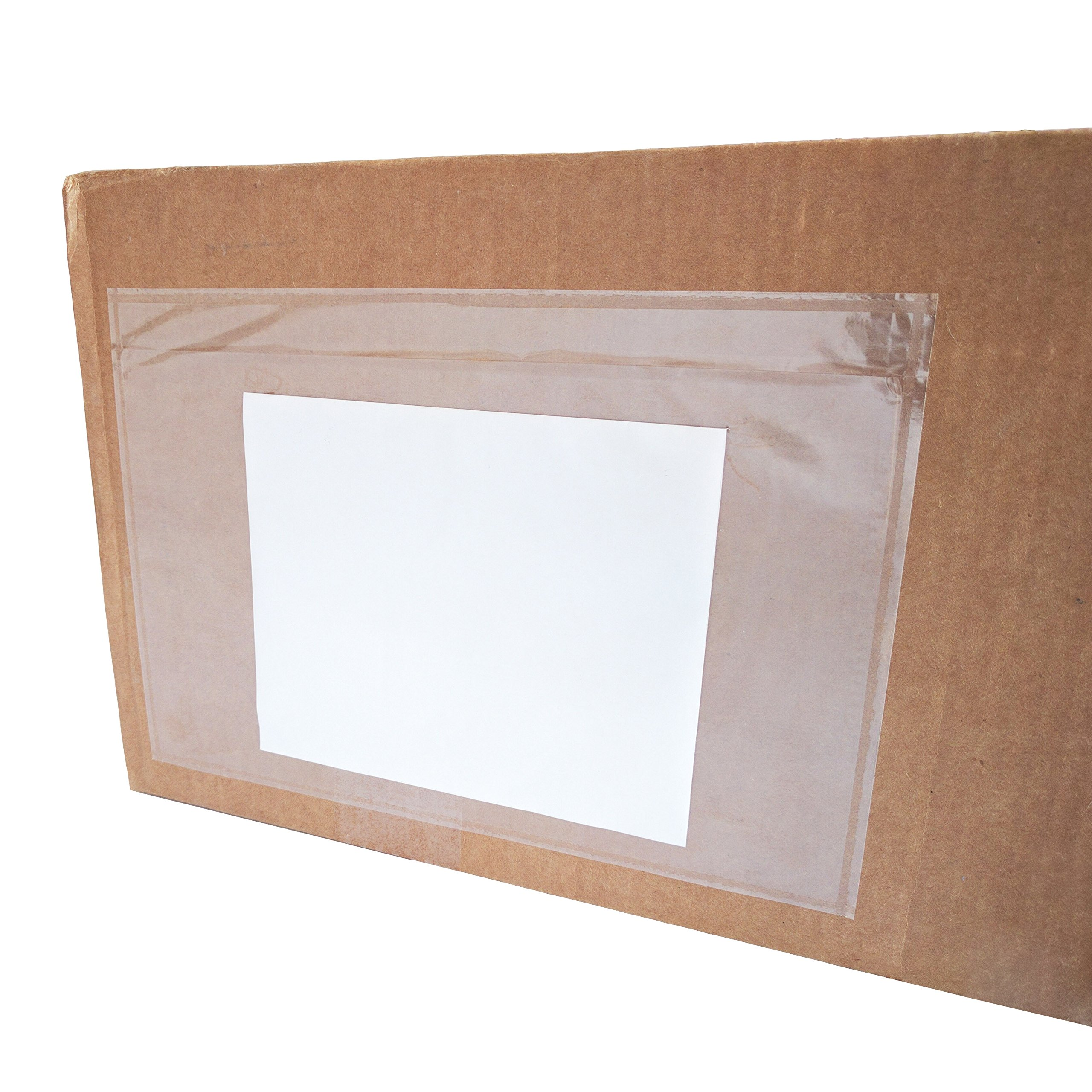 """6"""" x 9"""" Clear Plastic Self Adhesive Shipping Label / Packing Slip Envelope Pouches (100 pcs)"""