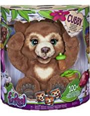 Fur Real Friends Cubby The Curious Bear Interactive Plush Toy, Ages 4 and Up