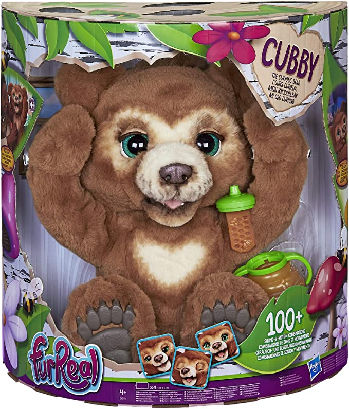 Furreal Friends - Peluche interactivo Cubby Mi Oso Curioso (Hasbro ...