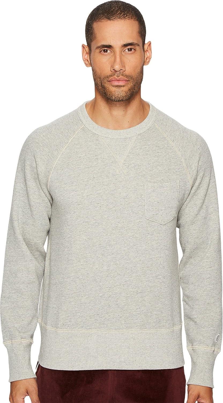 c2185ec7 Todd Snyder + Champion Men's Basic Pocket Sweatshirt, Light Grey Mix, S:  Amazon.co.uk: Clothing