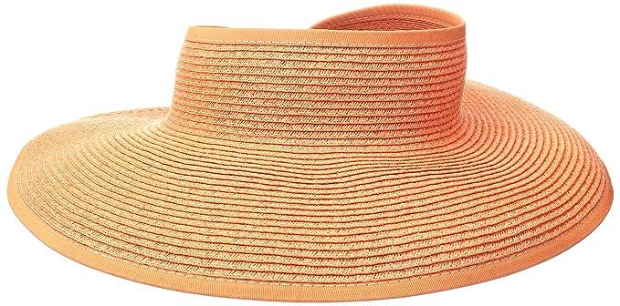 96e24c0d759 San Diego Hat Company Women s Ultrabraid Visor with Ribbon Binding