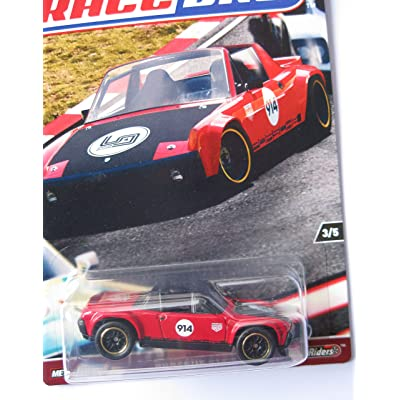 Hot Wheels 2020 Car Culture Race Day 3/5 - Porsche 914-5: Toys & Games