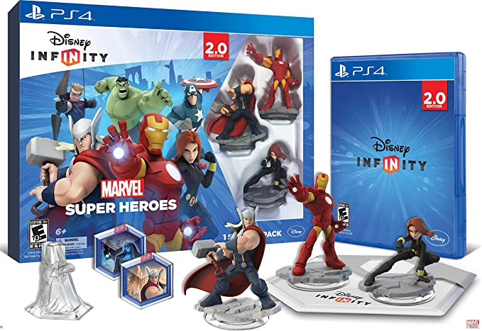 Disney INFINITY: Marvel Super Heroes (2.0 Edition) Video Game ...