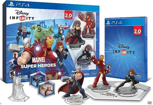 Disney INFINITY: Marvel Super Heroes (2.0 Edition) Video Game Starter Pack - PlayStation 4 (Color: Multi)