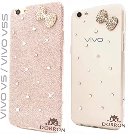 separation shoes 4b73a 3fbc4 DORRON Fashion Girls Case Cover Vivo V5 / V5s (Rose Gold)