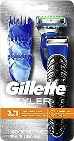 All Purpose Gillette Styler: Beard Trimmer, Men's Razor & Edger -