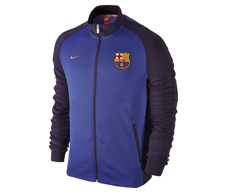 Nike FC Barcelona Auth N98 Track Chaqueta, Hombre, Morado ...