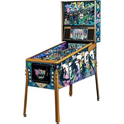 Stern Pinball The Beatles Gold Edition Arcade Pinball Machines : Sports & Outdoors