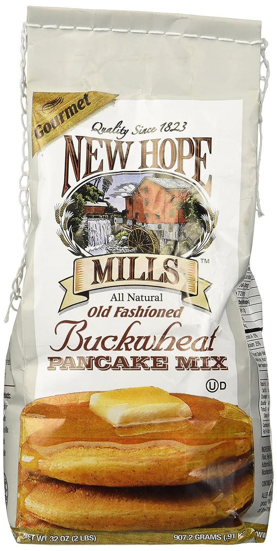 New Hope Mills New Hope Mills Mix, Old Fashion Buckwheat Pancake Mix, 2 lb, 2 lb