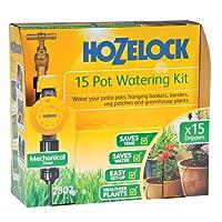 Hozelock kit d'Irrigation Automatique 25 Pots et Programmateur d'Arrosage AC Plus
