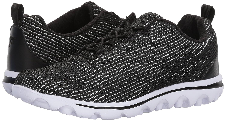 Propét Women's TravelActiv Xpress Sneaker B071JFSCML 11 B(M) US Black/White