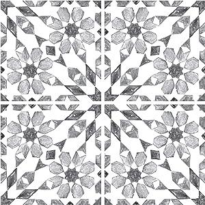 In Home NH2961 Catalan Peel & Stick Backsplash Tiles, Grey
